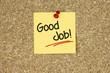 Good Job! Cork board