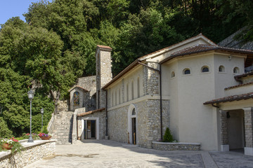 church of Greccio Franciscan monastery, Rieti