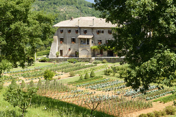 La Foresta Franciscan monastery and its orchard, Rieti