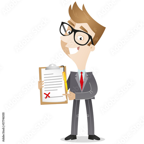 Businessman, contract, signature wanted