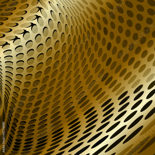 Gold design vector