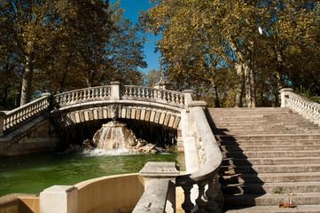 escaliers square Darcy à Dijon