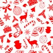 Seamless Pattern Christmas background