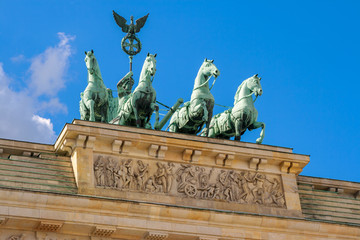 Quadriga statue. Berlin, Germany