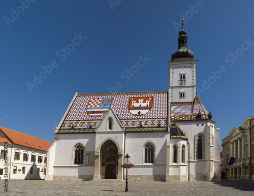 Church St Mark, Zagreb, Croatia