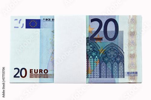 10 x 20 Euro