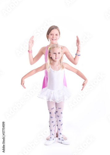 Two cute Ballerinas