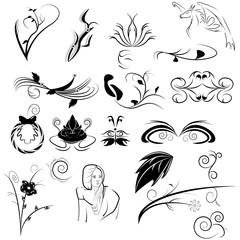 Design Elements Set - Vector illustration