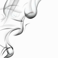 Elegant Smoke Background - Graphic Design