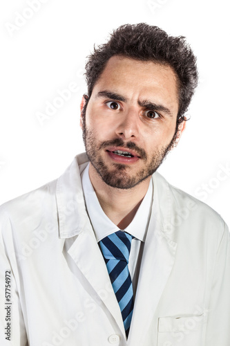 shocked doctor