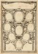 ornate photo frame for a group of nine