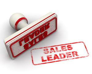 Sales leader. Печать и оттиск