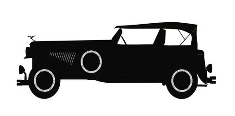 1931 dusenburg silhouette