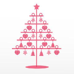 Weihnachtsbaum_Stoffmuster