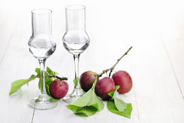 Fruit Brandy, Plum
