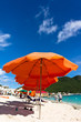Beautiful beach in Philipsburg, Saint Martin, Carribean Islands