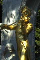 Johann Strauß Denkmal Wien Stadtpark