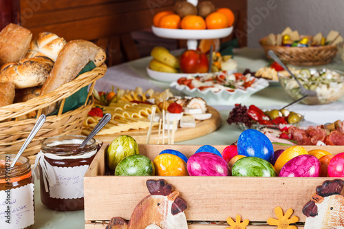 Buffet, Bar Foodstuff Easter / Ostermenü