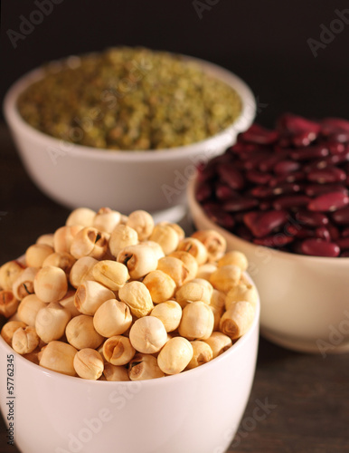Lotus seeds and beans