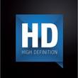 HD - high definition label
