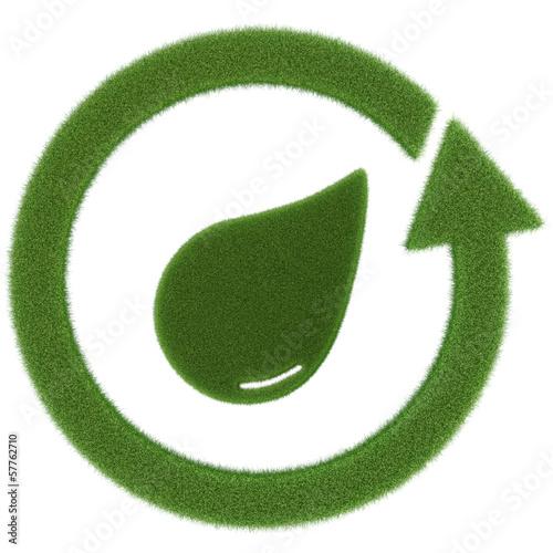 grüner Wasserkreislauf