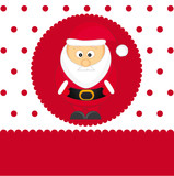 Santa cartoon vector illustration