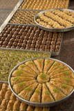 Turkish baklava cakes