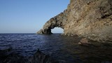 View of Arco dell'Elefante in the Pantelleria island, Sicily