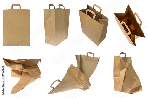 Collection of brown Paper Bags