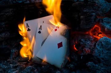 Burning Aces