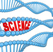 DNA Science Word Biology Learning Education