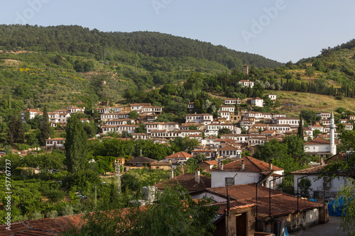 Sirince Village at Selcuk , Turkey