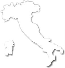 carte d'italie