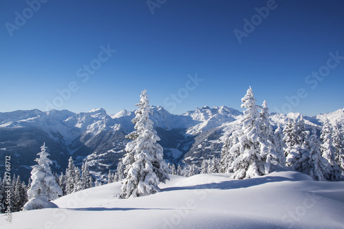 canvas print picture Winterlandschaft