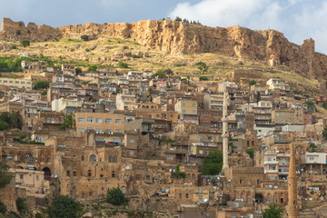 The landscape of Mardin , Turkey