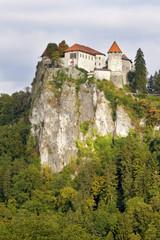 Medieval castle of Bled, Slovenia