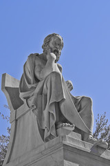 Socrates the ancient Greek philosopher