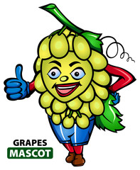 Grapes Mascot