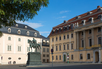 Platz der Demokratie in Weimar