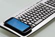tastatur mit smartphone