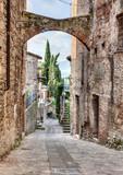 Fototapety antique Italian alley