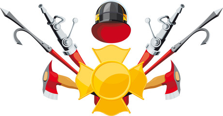 fire-fighting equipment emblem
