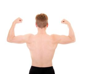Muskulöser Rücken