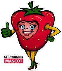 Strawberry Mascot