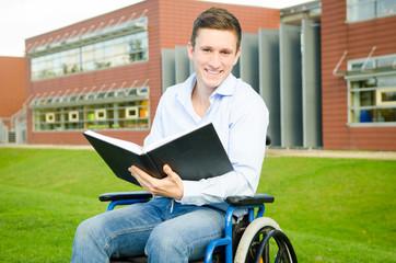 student auf dem campus