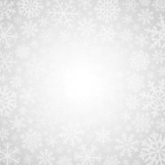 Winter white background