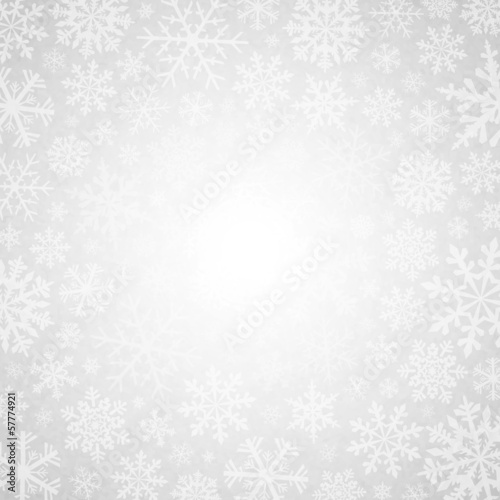 Winter white background