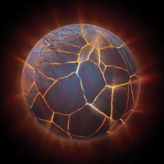 Exploding globe