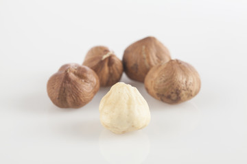 hulled nuts