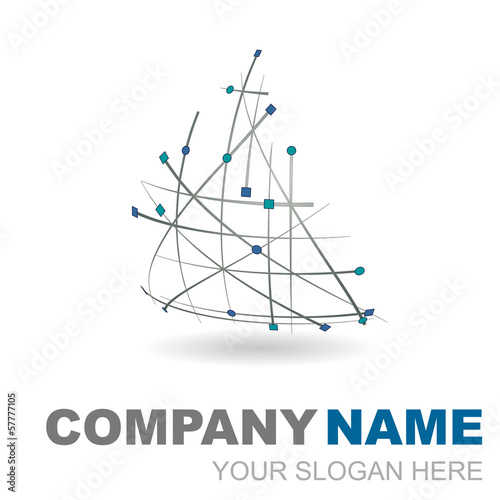 logo design 3d company name #2